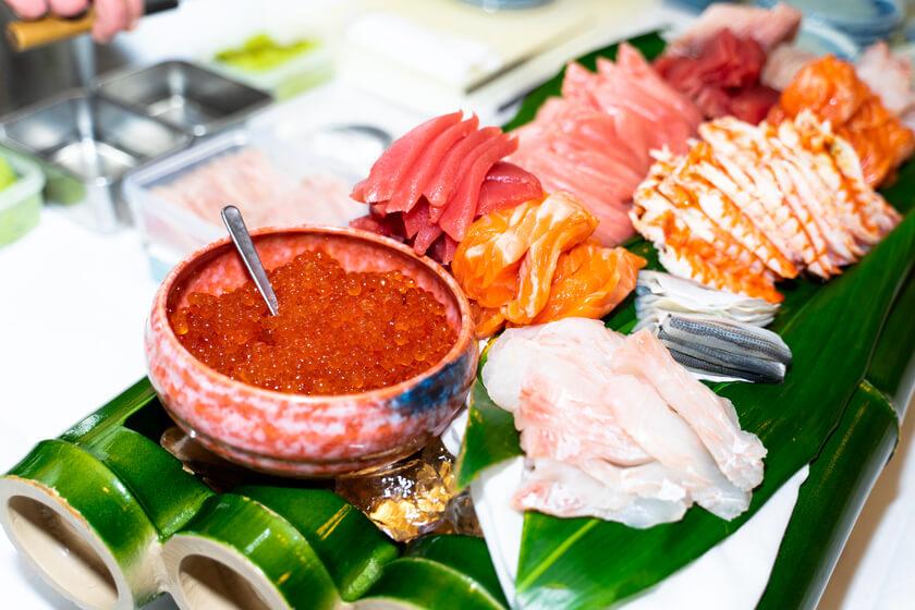 【医療系記念レセプションの事例】院内で握りたての寿司を堪能
